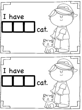 Sight Word Book - One