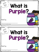 Sight Word Book - PURPLE