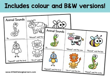 Mini Sight Word Books - Foundation Pre-Readers - ELEMENTARY FONT