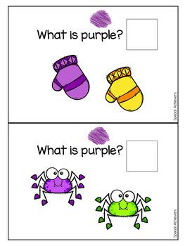 Sight Word Book: Purple