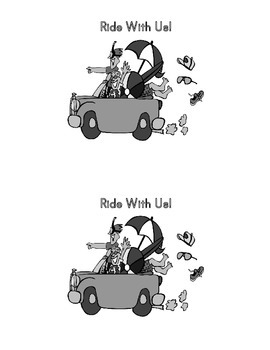 Sight Word Book:  Ride With Us!
