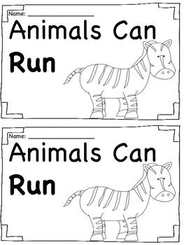 Sight Word Book - Run