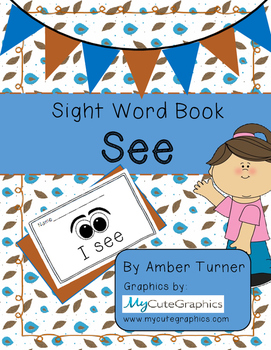 Sight Word Book - See