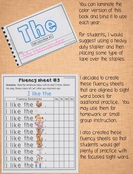 Sight Word Book-The (Benchmark Advance Kindergarten Series)