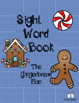 Sight Word Book The Gingerbread Man