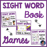 100 Fry Kindergarten Sight Word Games and Book with Virtua