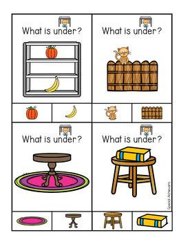 Sight Word Book: Under