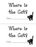 Kindergarten Emergent Reader - Sight Words Book - Where is