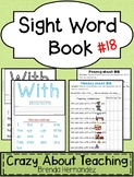Sight Word Book-With (Kindergarten Benchmark Advance)