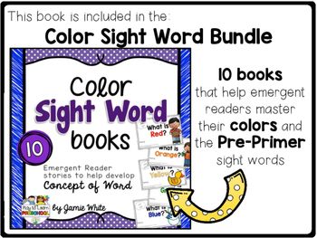 Sight Word Book - YELLOW