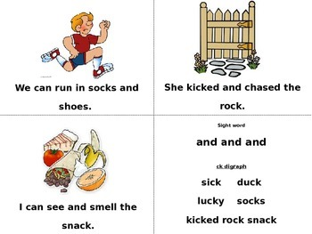 Sight Word Book (and & he)