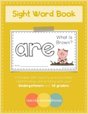 Sight Word Book - ARE