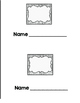 Sight Word Book - blank