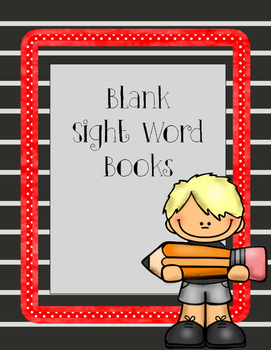 Sight Word Book - blank