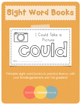Sight Word Book (could)