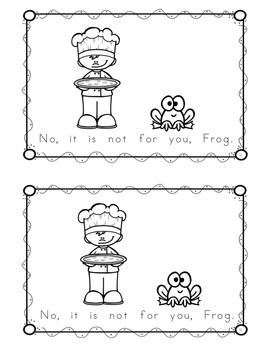 "Sight Word Book for ""Not"" Color the Sight Word Book 100"