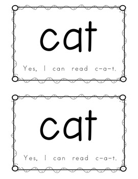 "Sight Word Book for ""Yes"" Color the Sight Word Book 93"