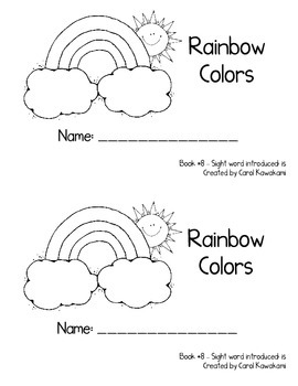 """Sight Word Book for the Sight Word """"is""""; Sight Word Book #8"""