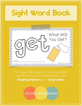 Sight Word Book (get)