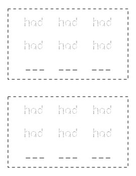 Sight Word Book (had)