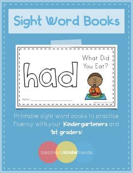 Sight Word Book (had)