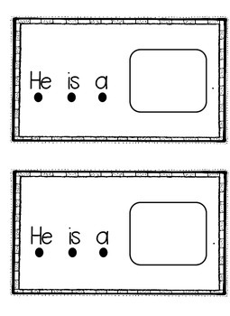 "Sight Word Book ""he she is""  (Rebus Style)"