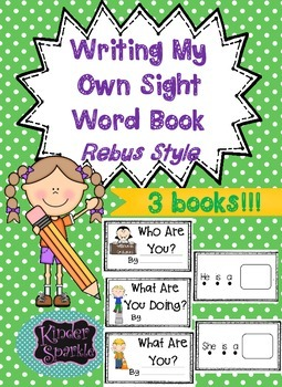 """Sight Word Book """"he she is""""  (Rebus Style)"""