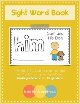 Sight Word Book (him)