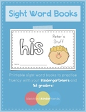 Sight Word Book - HIS