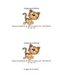 Sight Word Book in Spanish: El gato de mi (Level A)