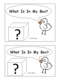"""Sight Word Book  - """"What Is In My Box"""" -  my, is, in, the, I, am"""