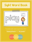 Sight Word Book - PLAY