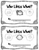 Sight Word Book - said & and