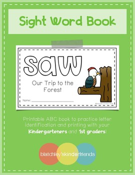 Sight Word Book (saw)