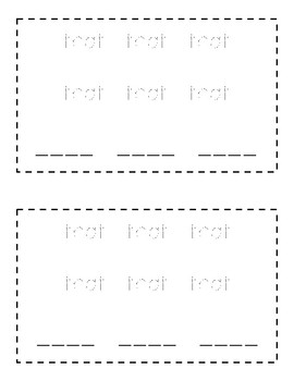 Sight Word Book (that)