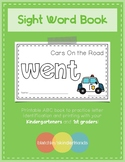 Sight Word Book - WENT