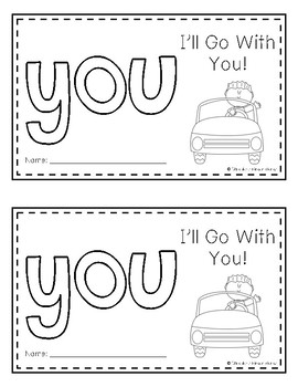 Sight Word Book (you)