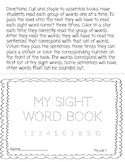 Sight Word Booklet 1 (First 100 Fry Words)
