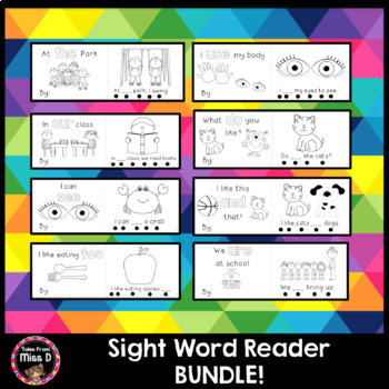 Sight Word Reader Bundle