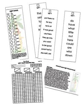 Sight Word Booklet - Grade 2