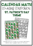 March Calendar Counting Companion