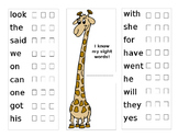 Sight Word Booklets