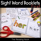 Sight Word Booklets - First