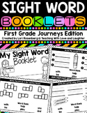 Sight Word Booklets {For Use With First Grade Journeys} Di