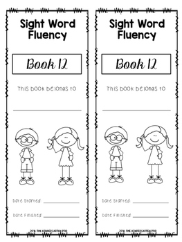 Sight Word Booklets - Fry Second Hundred Words