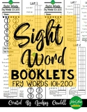 Sight Word Booklets - Fry Words 101-200