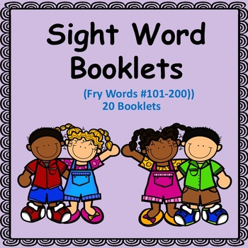Sight Word Booklets (Fry's Words #101-200)