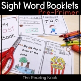 Sight Word Booklets - Pre-Primer