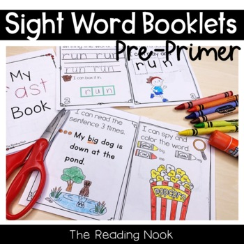 Sight Word Booklets - Pre-Primer