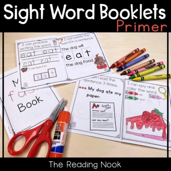 Sight Word Booklets - Primer